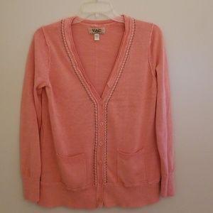 VAC by Nine West Embellished Seams Women's Sweater